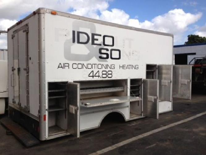 1 600 Obo Utility Service Truck Body For Sale In Miami