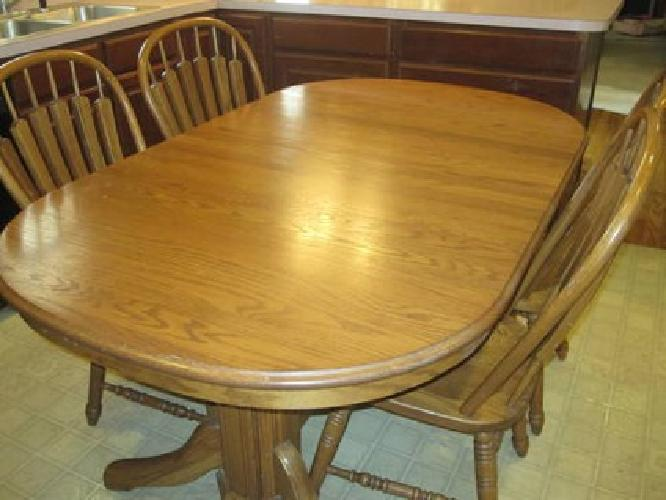 $1,600 Richardson Brother Dining Table U0026 Hutch