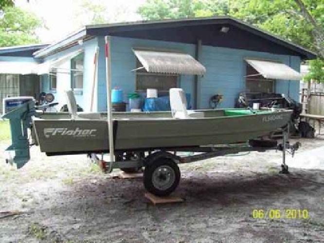 $1,650 14ft Aluminum Jon Boat