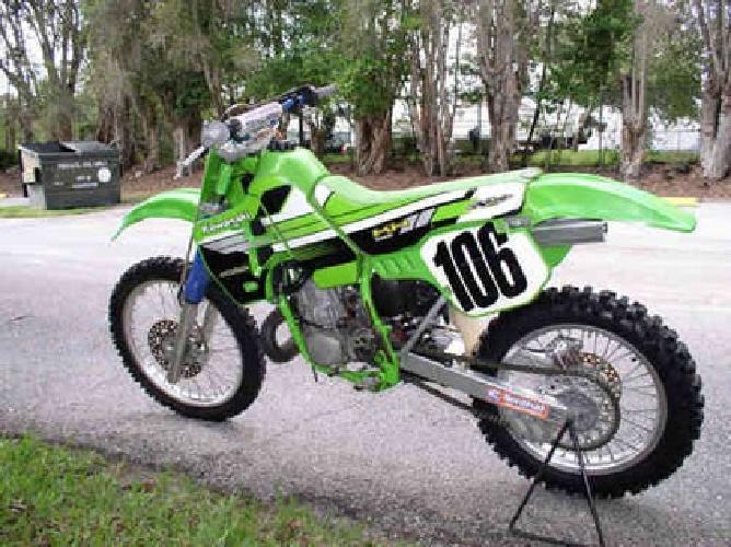 1650 1988 Kawasaki KX 250