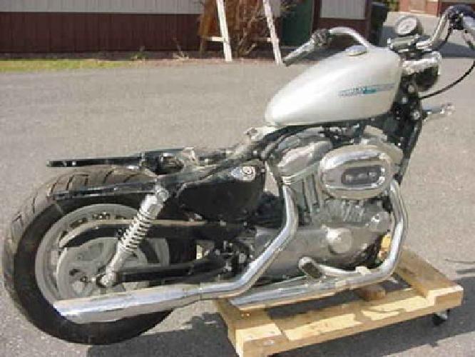 $1,750 2005 Harley 883 Sportster CHOPPER BOBBER PROJECT Engine Trans Frame