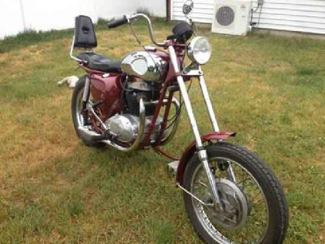 $1,800 1969 BSA Thunderbolt A65 650