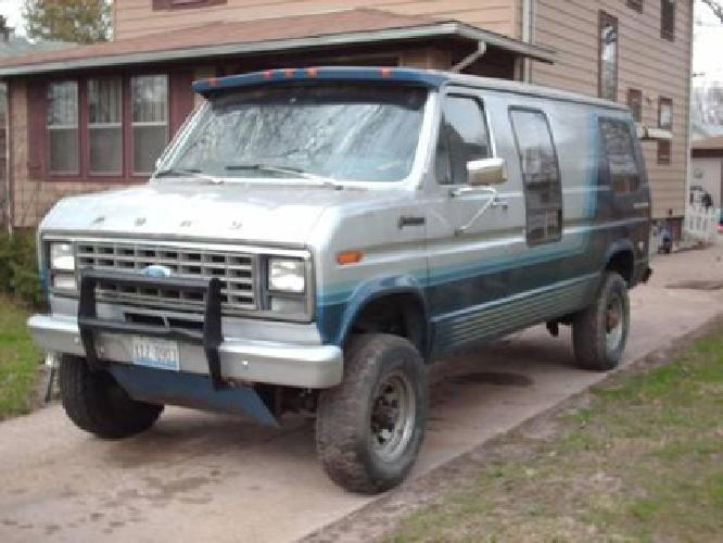 1,800 1979 Ford E250 Quadravan 4x4 Conversion Van for sale in Loves