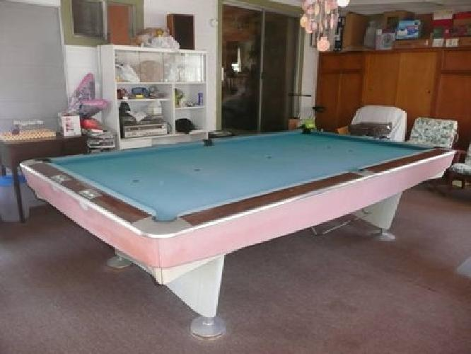 Brunswick Gold Crown Snooker Table For Sale In El Cajon - Brunswick gold crown pool table for sale