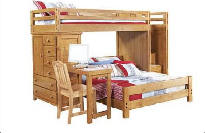 Creekside Taffy Twin Twin Bunk Bed