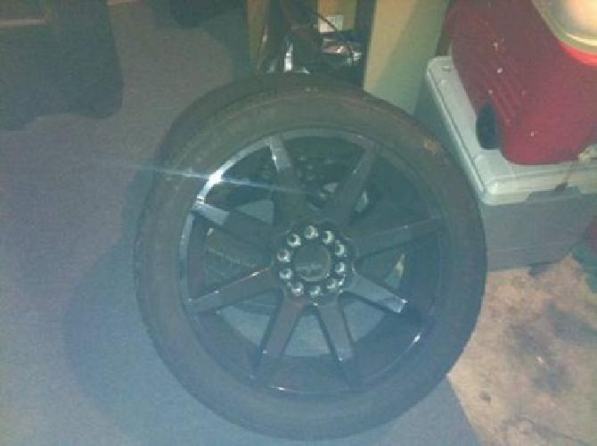 $1,800 kmc slide 22 inch rims with tires