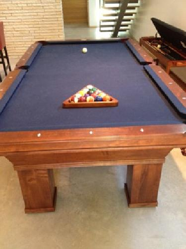 1 800 Pool Table And Storage Bench For Sale In Austin
