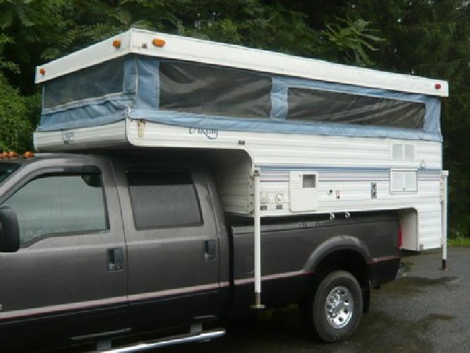 1 800 Viking Truck Camper Full Bathroom For Sale In