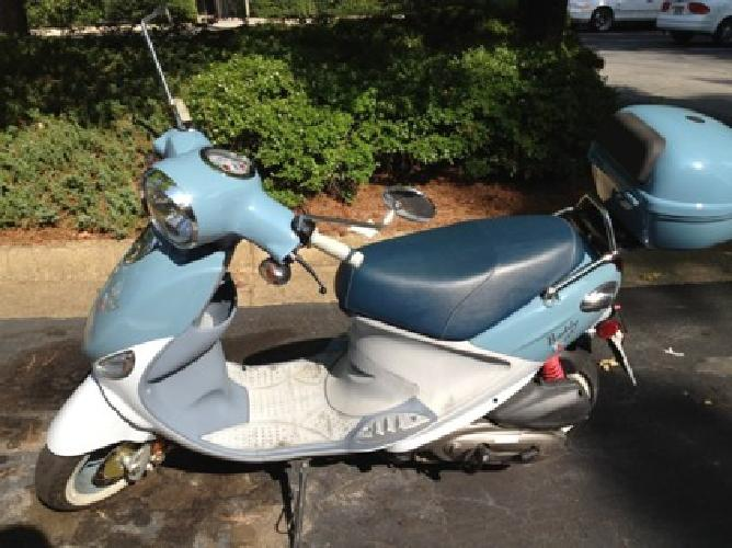 1 850 2008 genuine buddy 150cc scooter for sale in for Motor scooter blue book