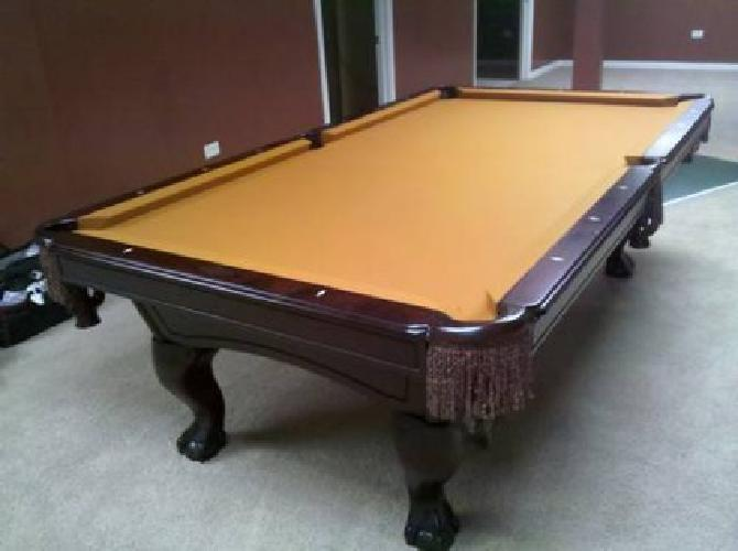 Beautiful AMF Playmaster Pool Table DeliveryInstallation - Playmaster pool table