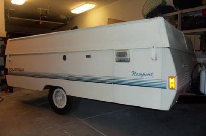 $1950 1991 Coleman Newport Tent Trailer & $1950 1991 Coleman Newport Tent Trailer for sale in Roseville ...