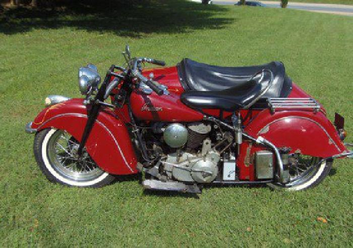 1 9 4 8 Indian Chief & Sidecar