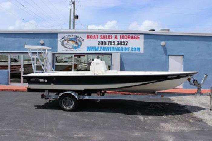 Flats Boat rigged for a Yamaha   we finance for sale in Miami  Florida