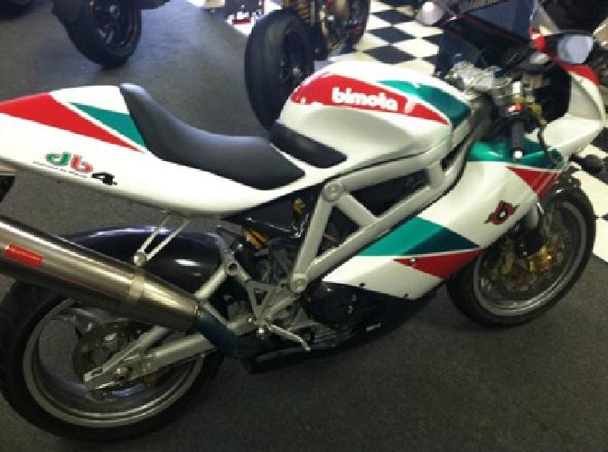 2000 Bimota Tricolore DB-4 + Free Shipping + Factory Race Kit