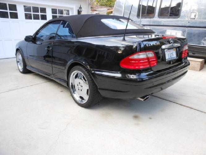 2001 CLK Cabriolet $18,000.00 37K Miles