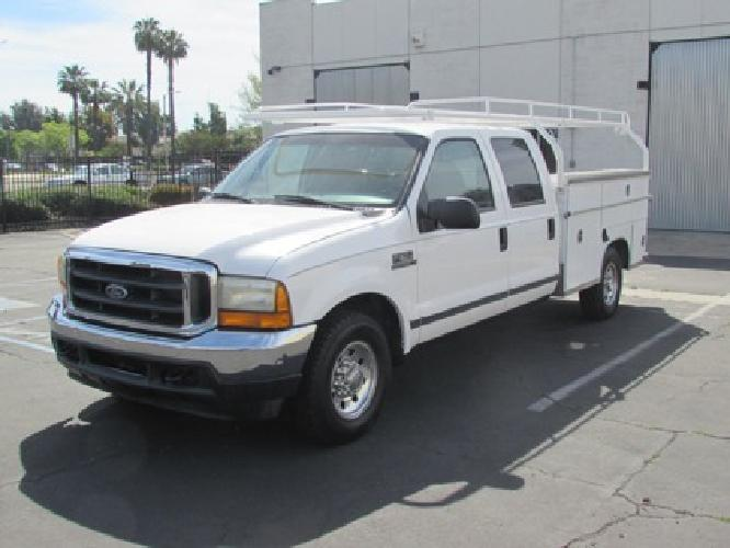 2001 ford f 350 crew cab work truck for sale in montclair california classified. Black Bedroom Furniture Sets. Home Design Ideas