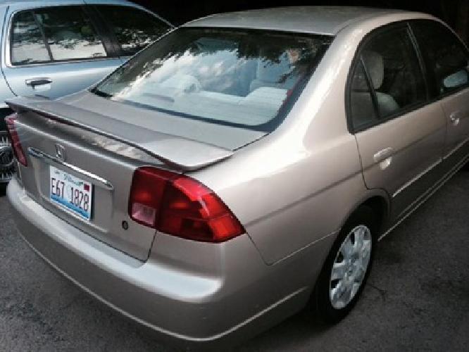 2001 Honda Civic 5 Speed Manual Transmission - $2900 (Woodridge)