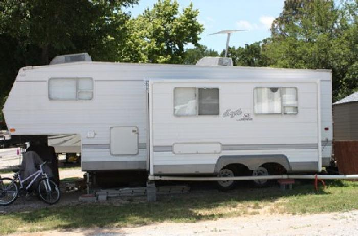 2002 5th Wheel Rv 26 Foot Jayco M 243 Rks 7500 Azle
