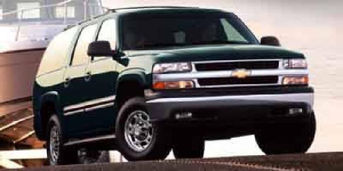 2002 Chevrolet Suburban LT