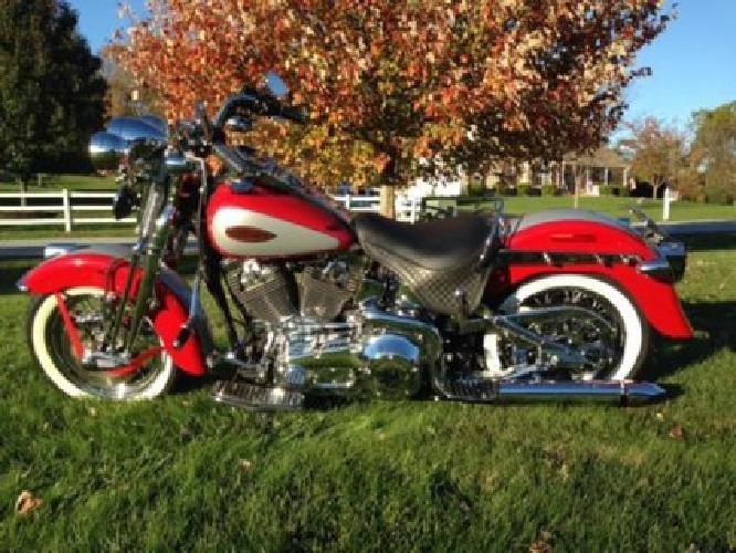 2002 Harley Davidson FLSTSI Heritage Springer