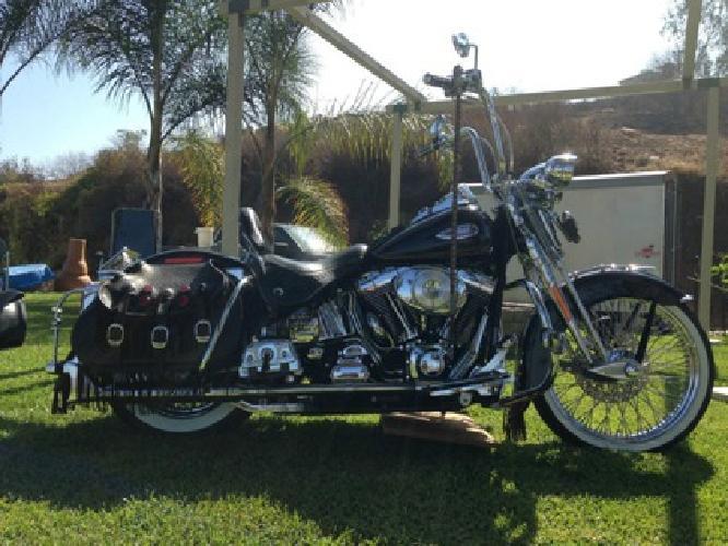 2002 Harley Davidson Heritage Springer One of a kind