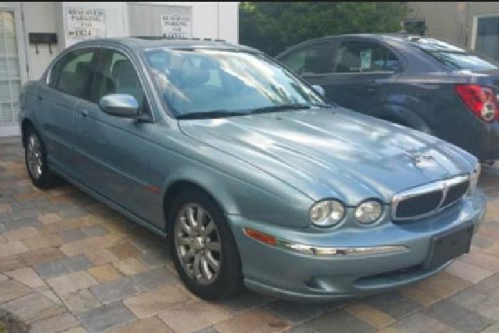 2002 Jaguar X type 2.5
