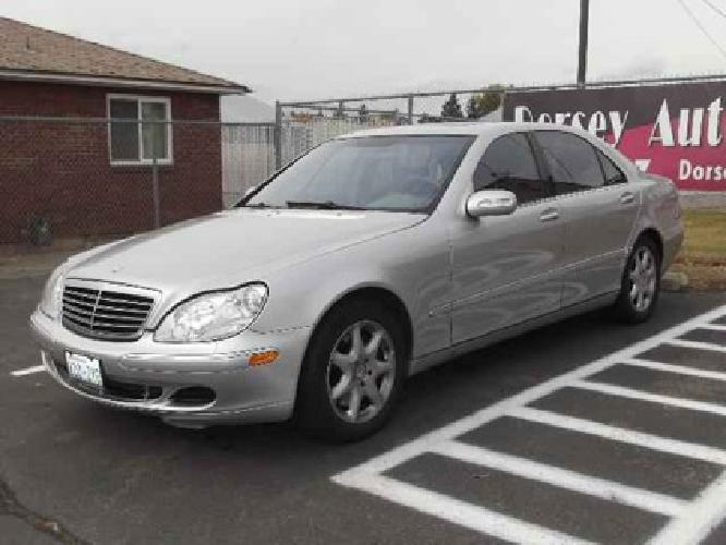 2003 mercedes benz s class s430 for sale for sale in. Black Bedroom Furniture Sets. Home Design Ideas