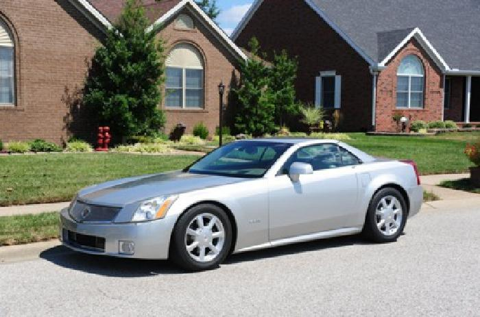 2004 Cadillac XLR Convertible Roof 2Door 4.6 Silver Tan Leather Inside