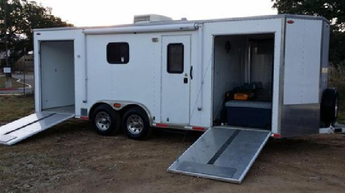 2004 Journey 8 5x22 Enclosed Motorcycle Trailer For Sale