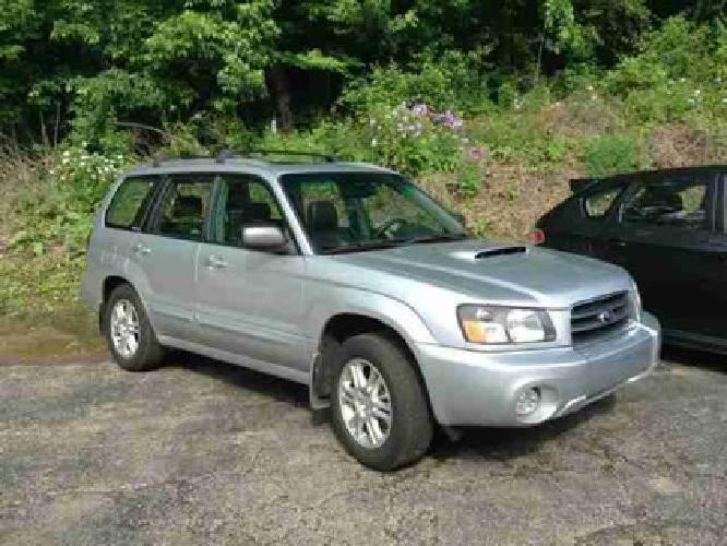 2004 Subaru Forester 4dr 2.5 XT Auto w/Prem Pkg & Lthr