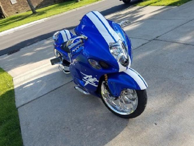 2004 Suzuki Hayabusa 1300 Gsxr Blue
