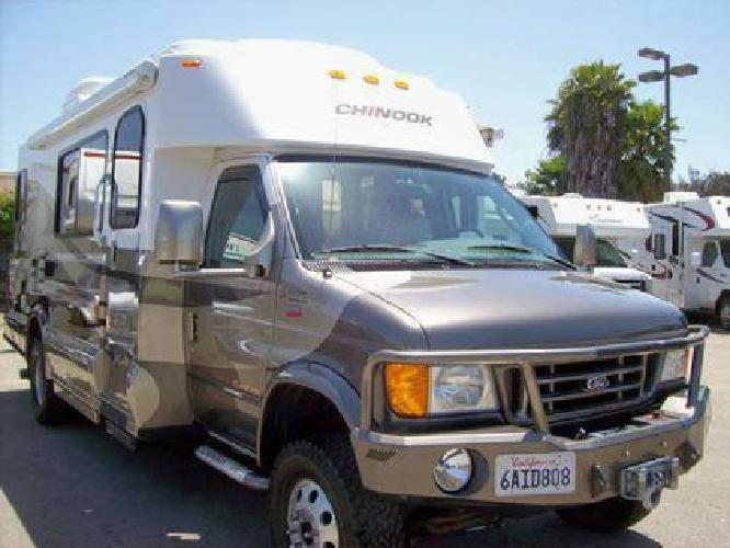 2005 Chinook 4x4 25ft Slide Out Motorhome RV,5K Miles,Immaculate