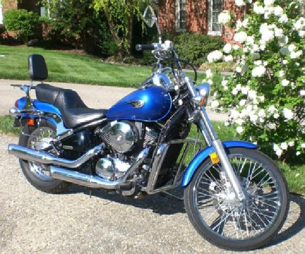 2005 Kawasaki Vulcan 800cc just 15,049 Miles Runs Great & has Handful of Extras
