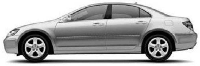 2006 Acura RL 3.5 Sedan 4D