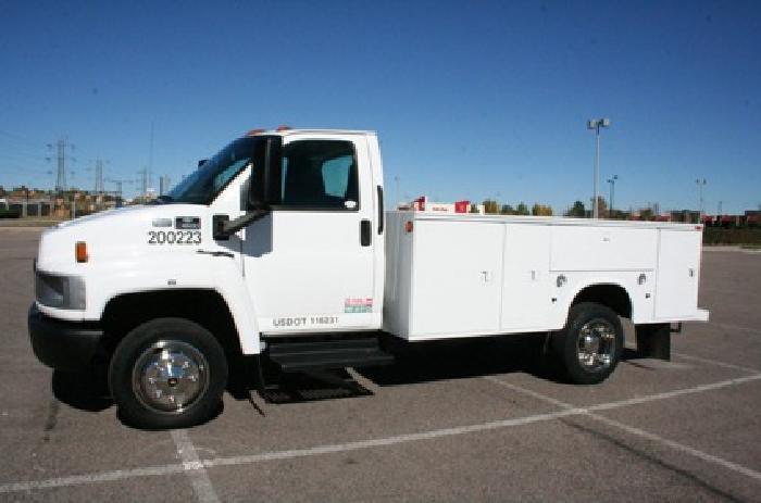 2006 chevrolet c4500 kodiak service utility truck for sale for sale in denver colorado. Black Bedroom Furniture Sets. Home Design Ideas
