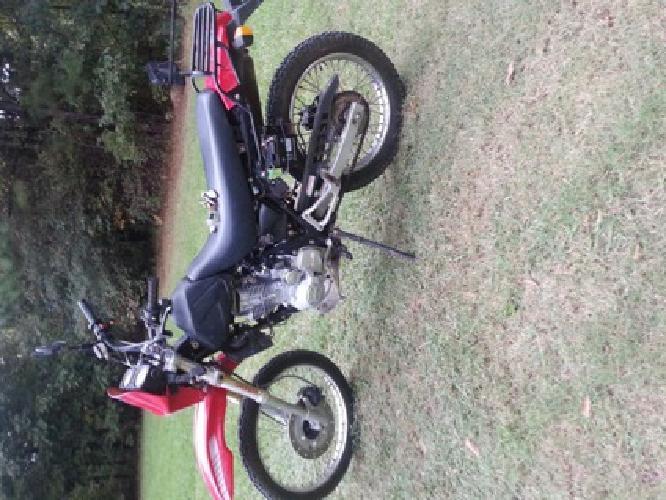 2006 dirt bike
