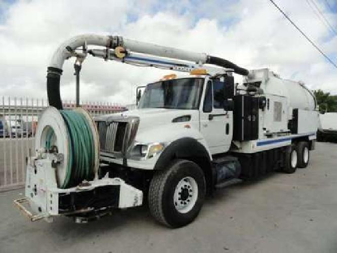 2006 International 7600 VacCon VACUUM/ JETTER COMBO