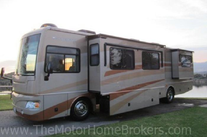 2007 Bounder Diesel Pusher 38' w/3 Slide-Outs + Warranty + Wholesale Priced