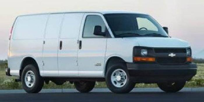 2007 Chevrolet Express Cargo Van Van 3D