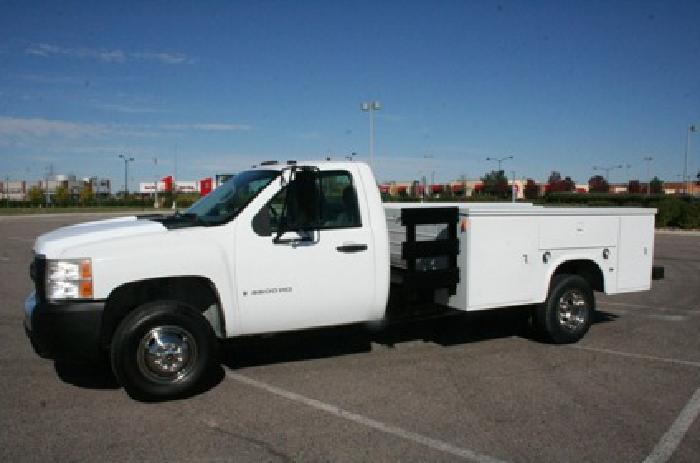 2007 Chevrolet Silverado 3500hd Service Utility Truck for Sale for sale in Denver, Colorado ...