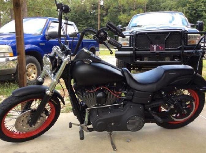2007 Harley-Davidson Dyna Street Bob FXDB Black Cruiser