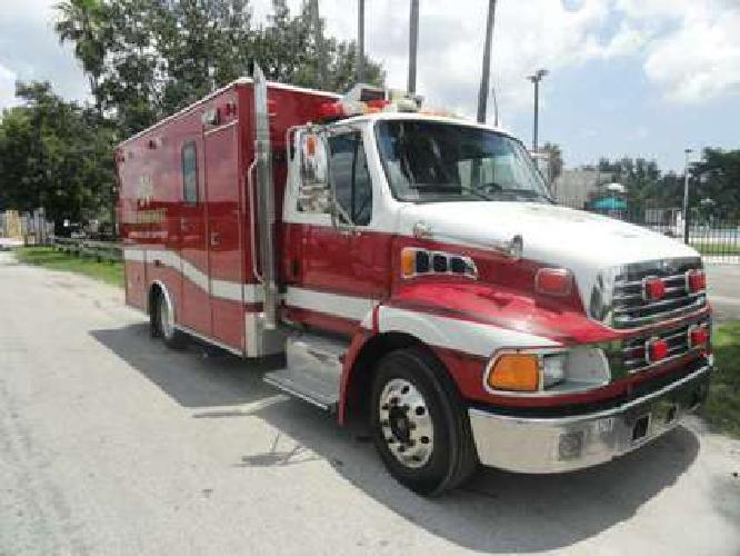 2007 Sterling Acterra Medic Master Fire Rescue Ambulance