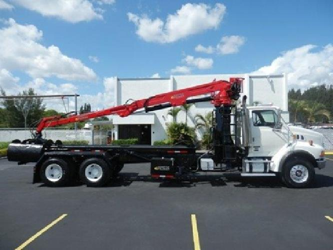 2007 Sterling Lt9500 Roll Off Grapple Truck Stock Y63695