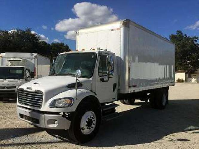2008 Freightliner M2-106 20 ft Box Truck For Sale