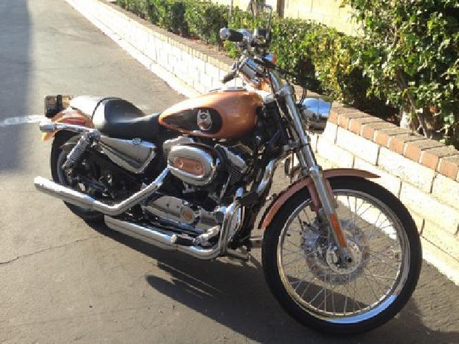 2008 Harley-Davidson Sportster 1200 Custom Anniversary Edition H-D XL1200C XL