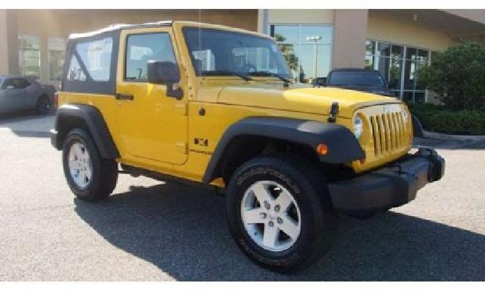 2008 jeep wrangler x for sale in jacksonville florida classified. Black Bedroom Furniture Sets. Home Design Ideas