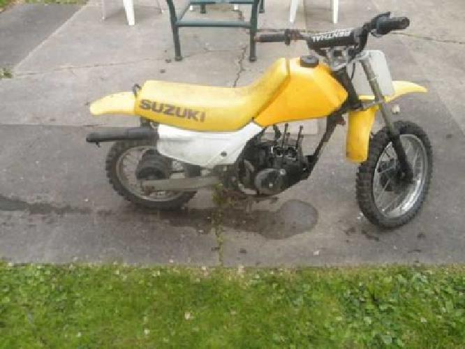 $200 1995 Suzuki 80cc parts bike for sale in Pittsburgh ...
