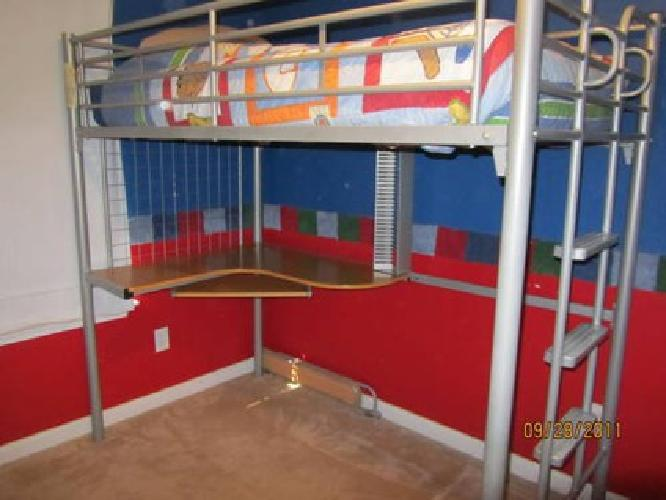 200 bunk bed excellent condition for sale in lexington for Bunk beds for sale under 200
