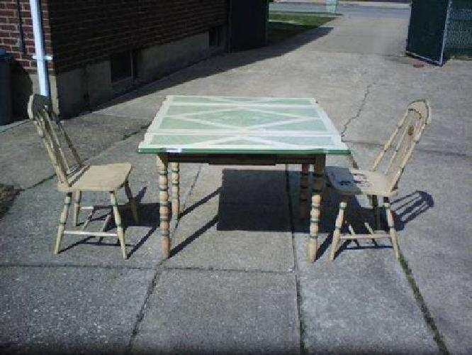 200 circa 1930s 1940s kitchen table chairs for sale in