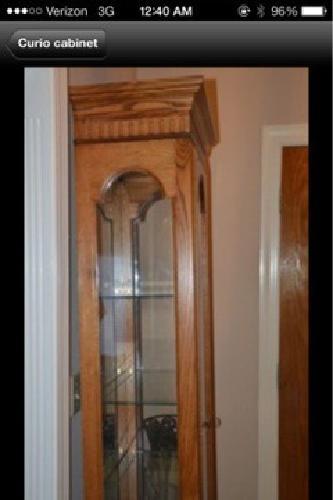 $200 Curio cabinet